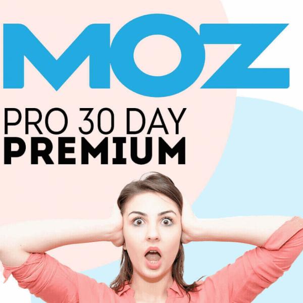 MOZPro premium features account