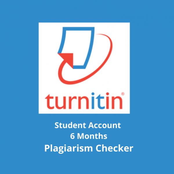 Turnitin Plagiarism Checker 6Months