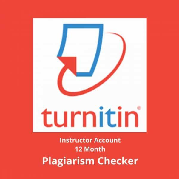 Turnitin instructor account