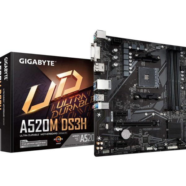 Gigabyte A520M DS3H DDR4