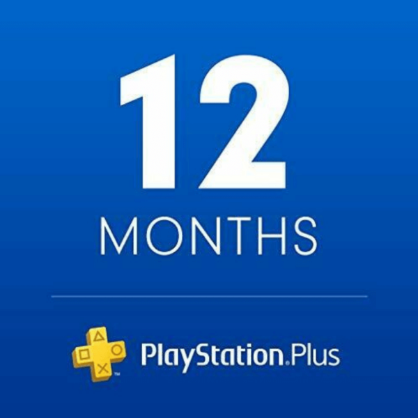 Sony PlayStation PS Plus 12-Month